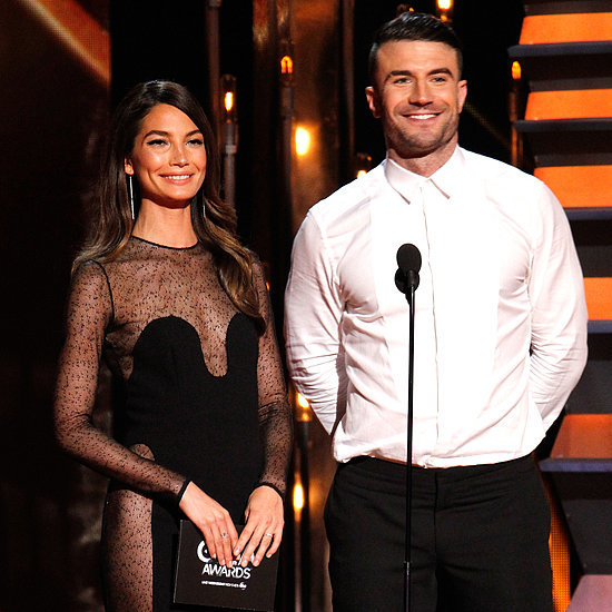 Lily Aldridge and Sam Hunt at the CMA Awards 2014 | Pictures