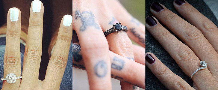 50 Real-Girl Engagement Rings to Swoon Over