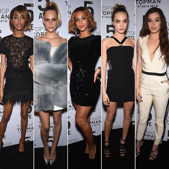 Topshop NYC Flagship Store Opening Night