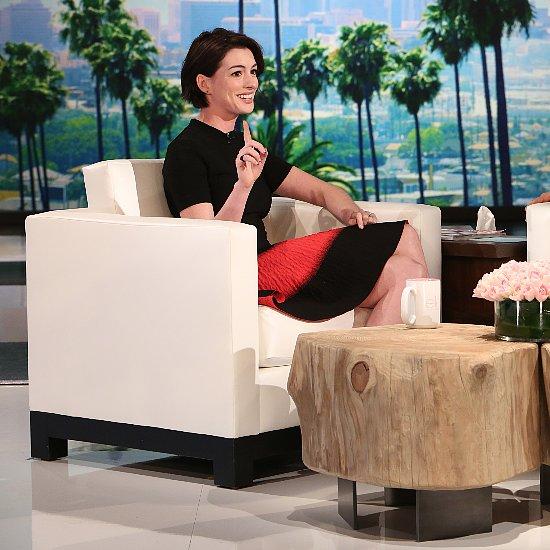 Anne Hathaway on Cyberbullying