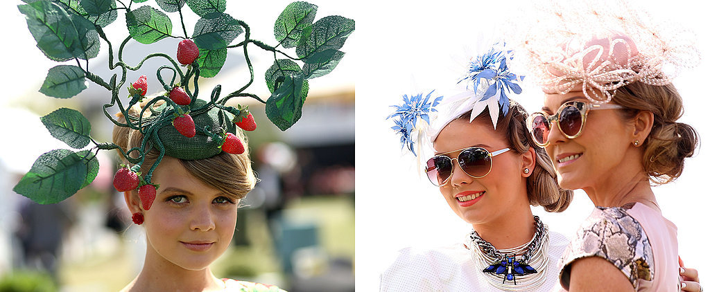 The Fascinators That Ruled the Fashion Crowd at Ladies Day