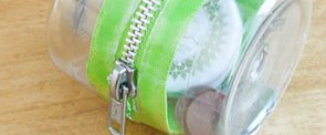 Upcycle It! Plastic-Bottle Zipper Container