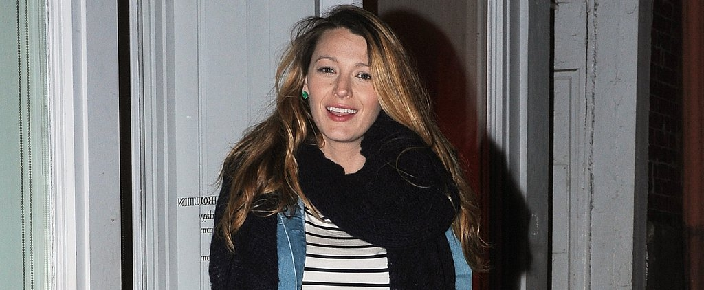 Pregnant Blake Lively Treats Her Feet to a Pair of Louboutins