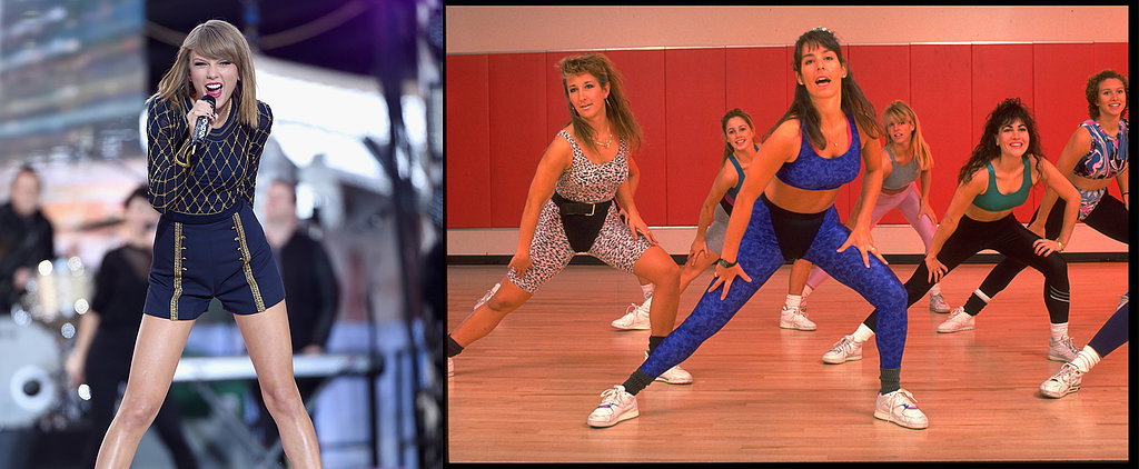 Aerobics + Taylor Swift: 2 Awesome Things Made Even More Awesome Together