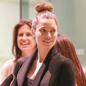 Jessica Biel at a Meeting Amid Pregnancy Rumors | Photos