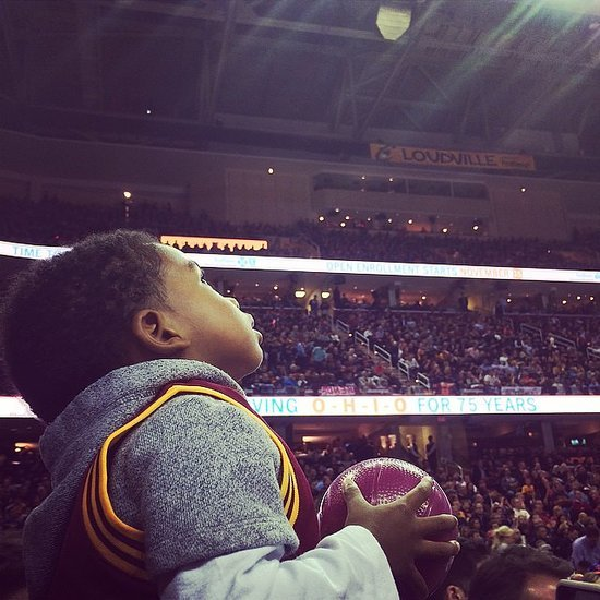 Andrew Hawkins's Son Isn't His Biggest Fan