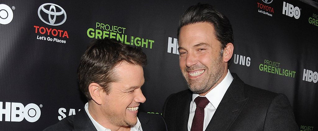 "Matt Damon Says He's Seen Ben Affleck's Penis ""Many Times"" Before Gone Girl"