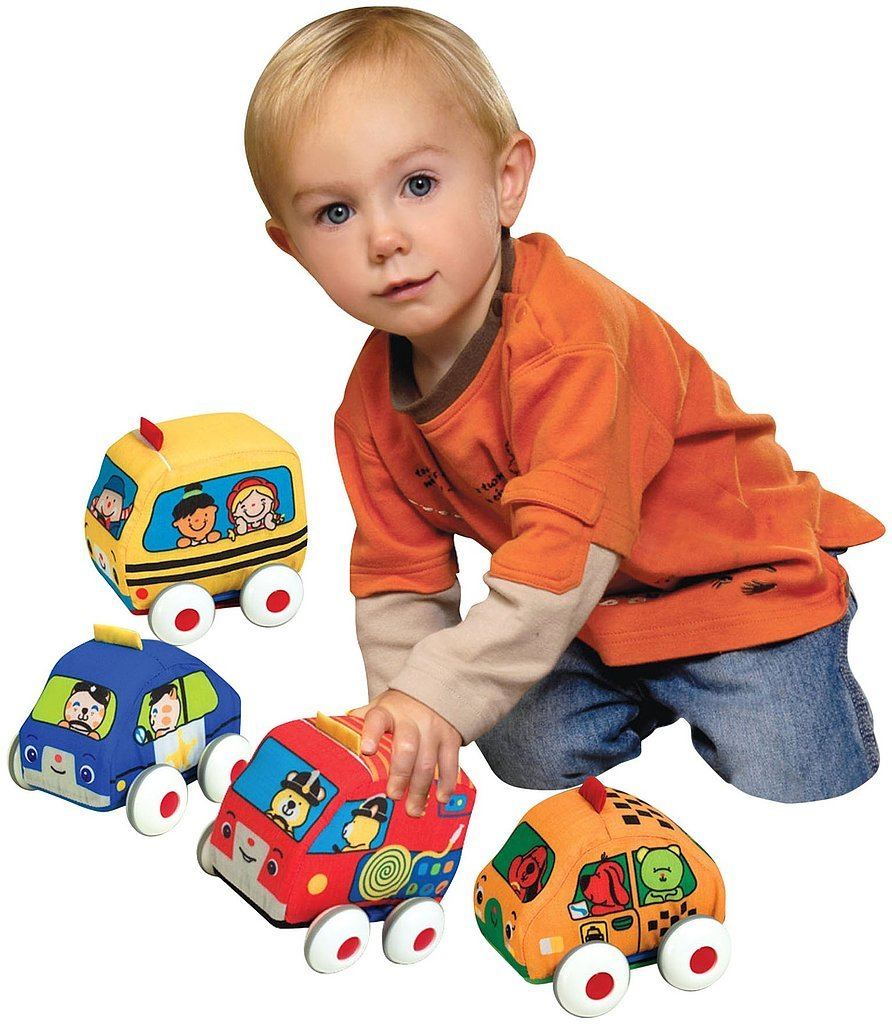 For 1-Year-Olds: Melissa & Doug K's Kids Pull-Back Vehicles