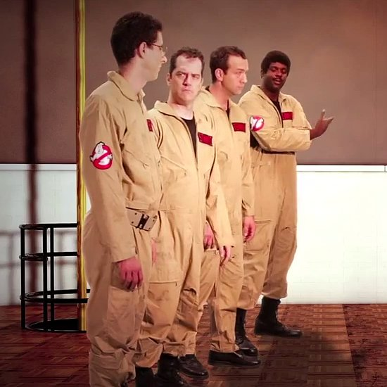 Ghostbusters vs MythBusters Epic Battle | Video