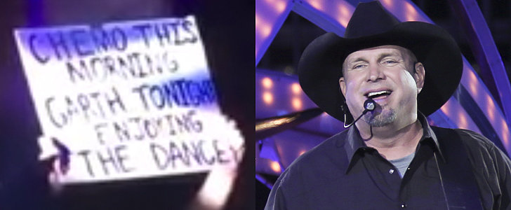 "Garth Brooks's Moving Midconcert Fan Shout-Out: ""Go Kick Cancer's Ass!"""