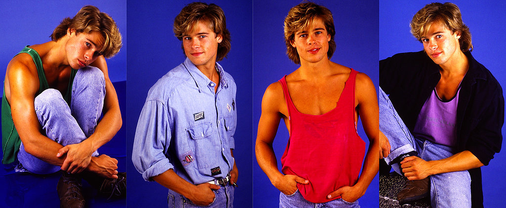 These Gloriously Cheesy Brad Pitt Pictures From 1987 Can't Be Beat