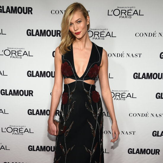 Karlie Kloss at the 2014 Glamour Women of the Year Awards