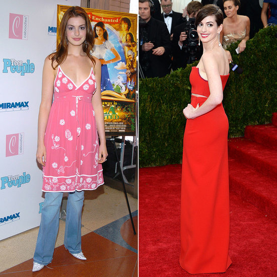 Khakis to Couture: Anne Hathaway's Red Carpet Evolution