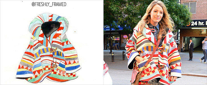 These Instagram Artists Sketched Our Favorite Fashion Items