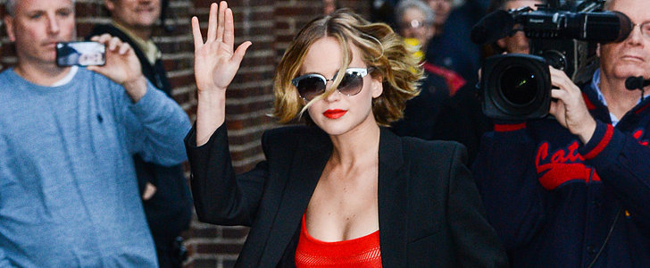 Jennifer Lawrence Has a Red-Hot Moment in NYC