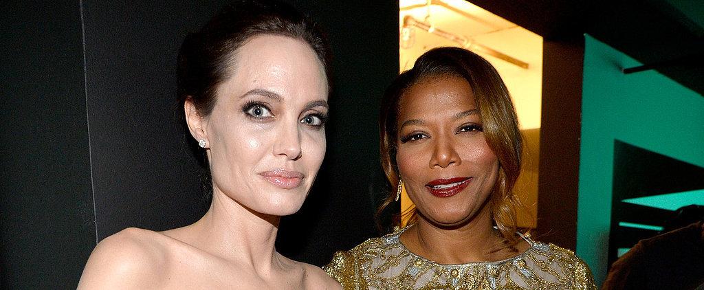 Angelina Jolie Gets a Head Start on Award Season at the Hollywood Film Awards