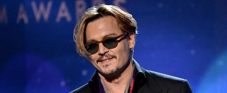What Was Going On With Johnny Depp at the Hollywood Film Awards?