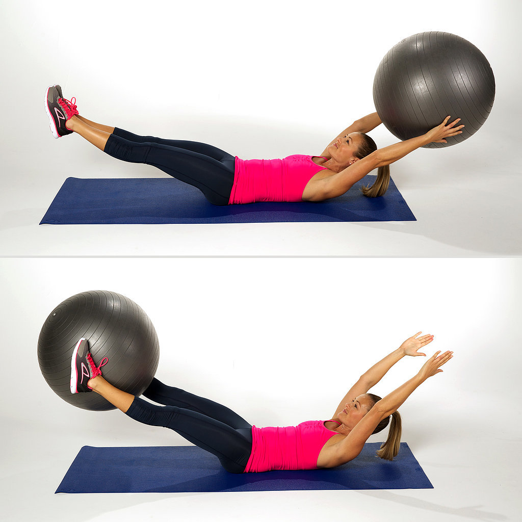 Stability Ball Moves: 25 Ab-Toning Moves — No Crunches Required
