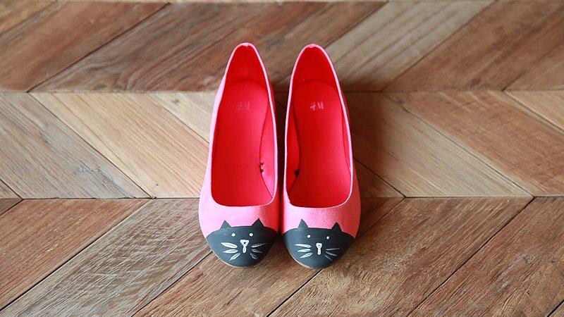 Pink Cat Flats