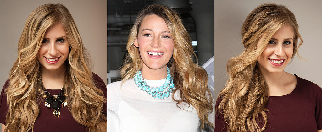 DIY Blake Lively's Glam Waves and Braids For Valentine's Day