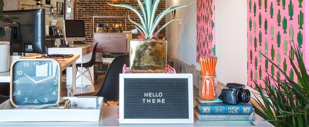 Art Transforms a Cold LA Warehouse Into a Vibrant Office