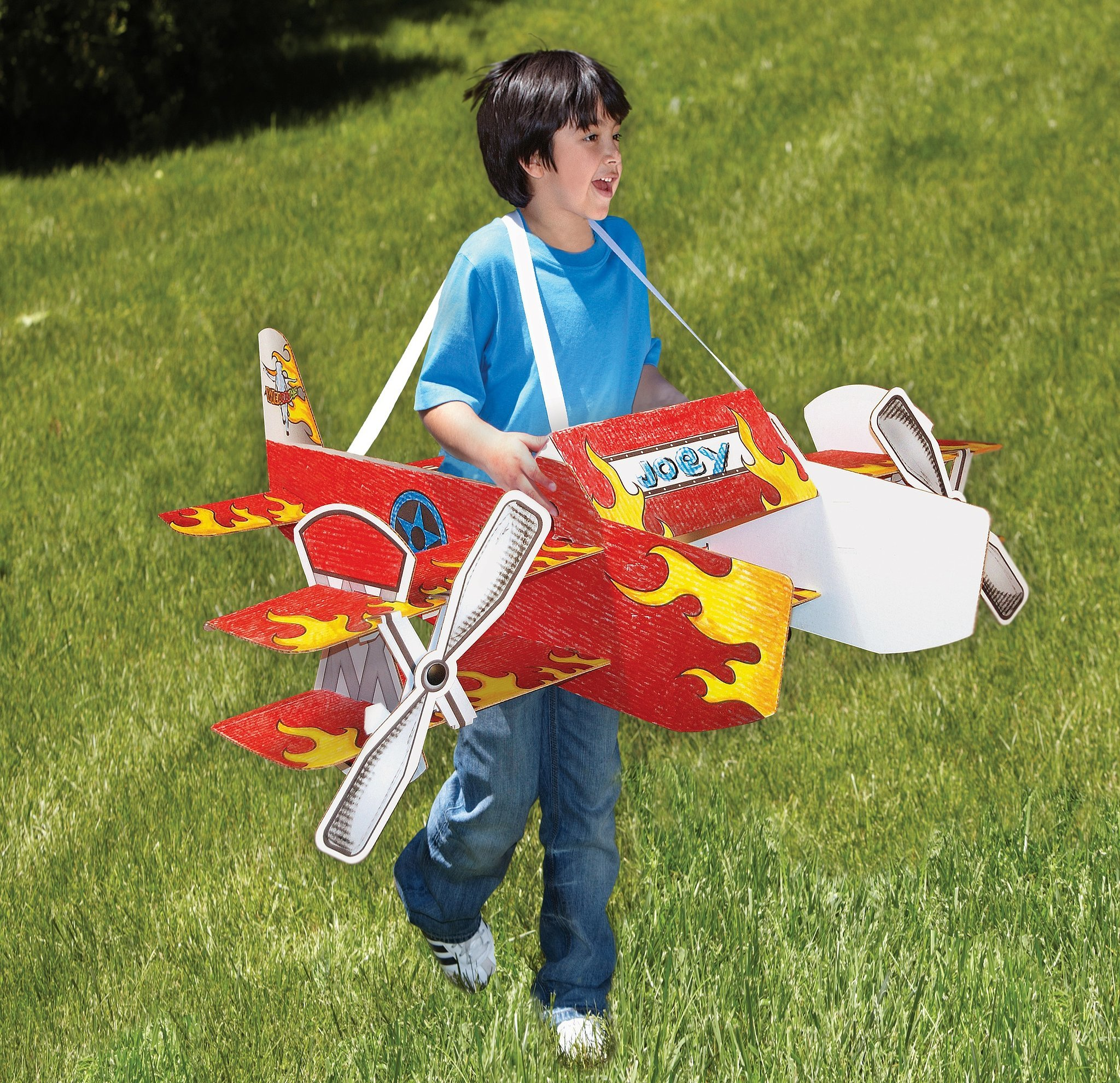 Airplane Toys For 3 Year Olds : For year olds wearables stunt plane usa corrugated