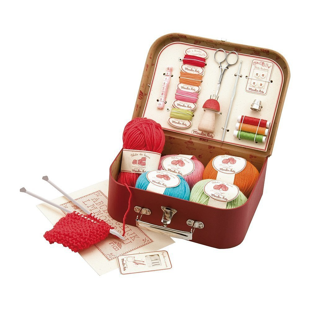 Moulin Roty Les Valises Sewing Kit