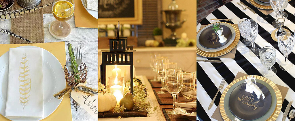 POPSUGAR Shout Out: Get Inspired by These Photo-Worthy Thanksgiving Tables
