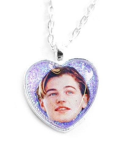Leonardo DiCaprio Glitter Necklace