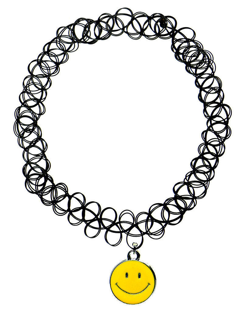 Smiley Tattoo Choker