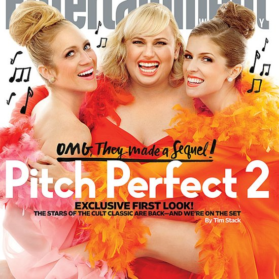Pitch Perfect 2 Entertainment Weekly Cover