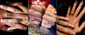 These Couples Gave Up Their Engagement Rings and Got Inked Instead