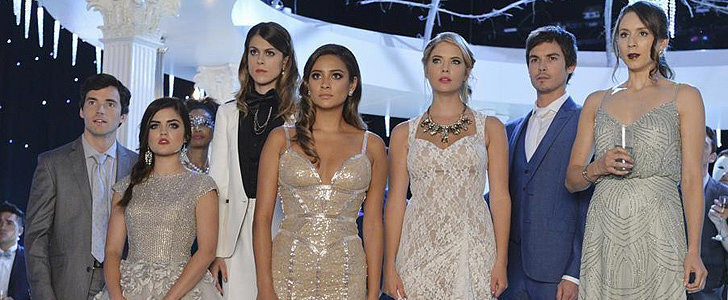 The Pretty Little Liars Christmas Special Looks Gorgeous