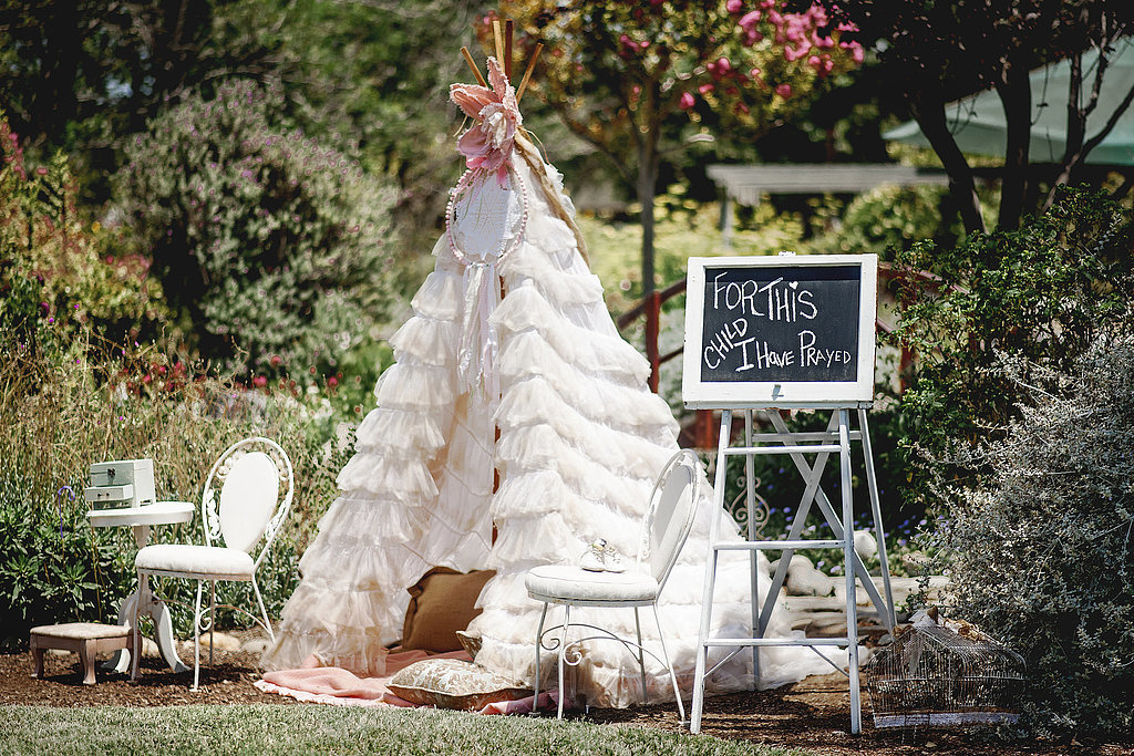 boho chic baby shower popsugar moms
