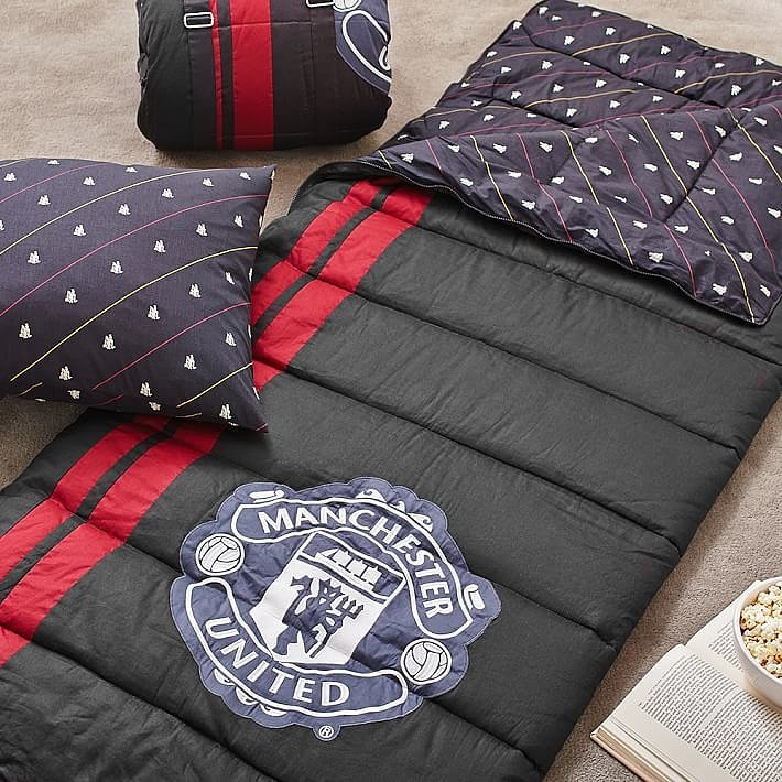For 9-Year-Olds: Manchester United Sleeping Bag