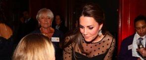 Kate Middleton's Babybauch wird immer sichtbarer