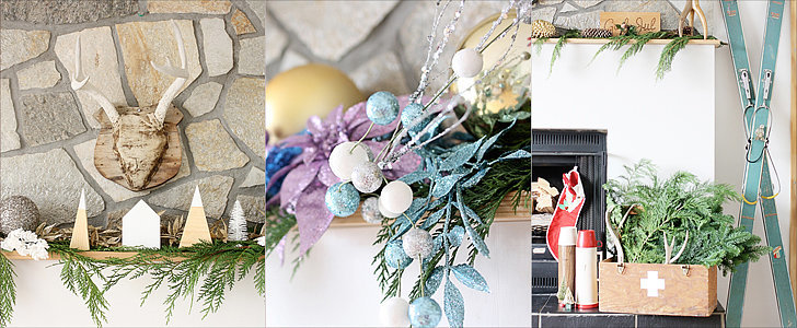 3 Ways to Style Your Mantel For the Holidays