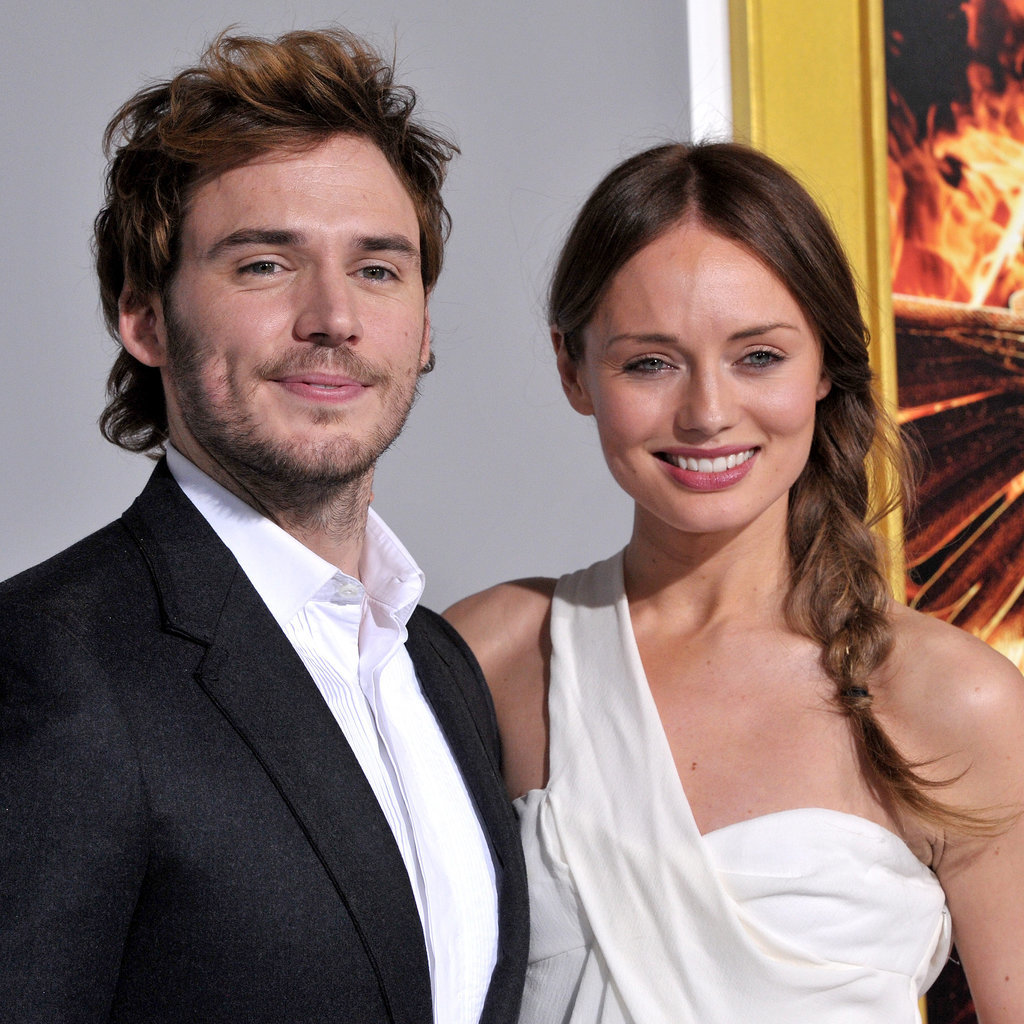 Family photo of the actor, married to Laura Haddock, famous for Love & Rosie.