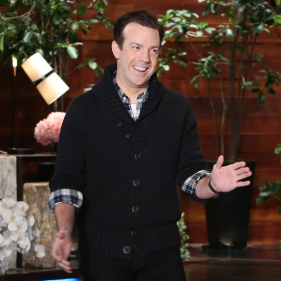 Jason Sudeikis Shares Photo of Son Otis on Ellen Show 2014