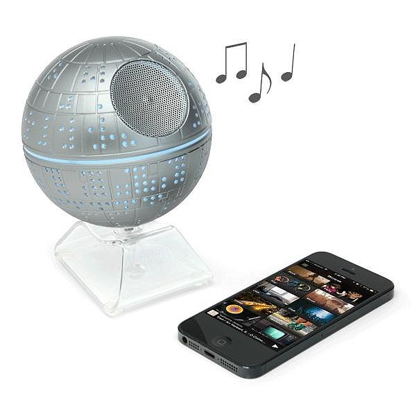 For 9-Year-Olds: Star Wars Death Star Bluetooth Speaker