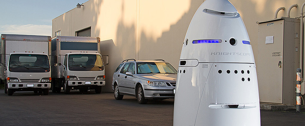 Robots Are Now on Security Duty