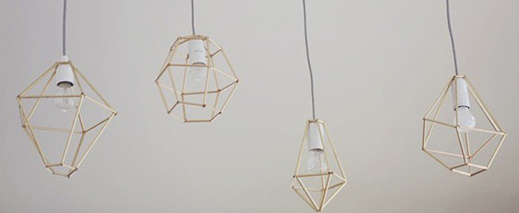 You Won't Believe What These DIY Pendant Lamps Are Made Out Of