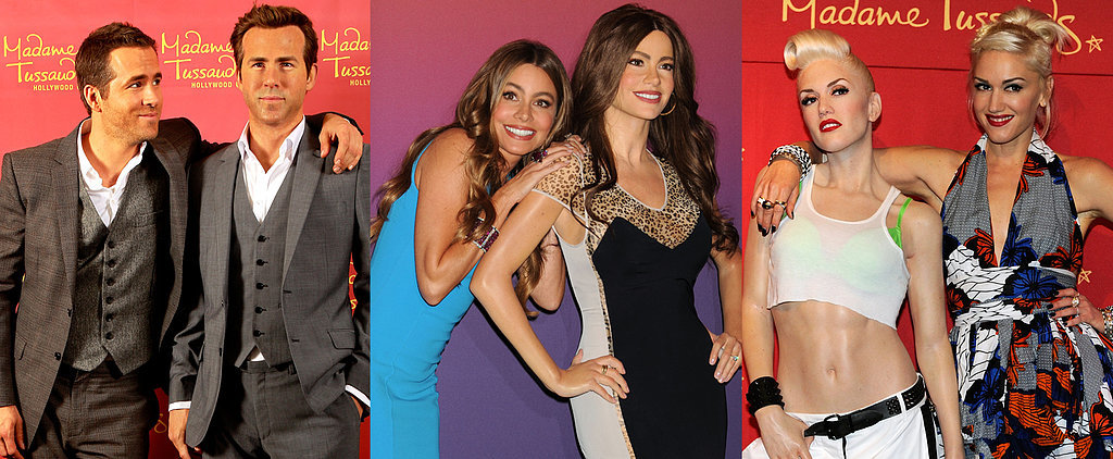 Celebrities Come Face to Face With Their Wax Figures!