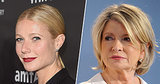 Gwyneth Paltrow Sends Martha Stewart a Subtle Burn