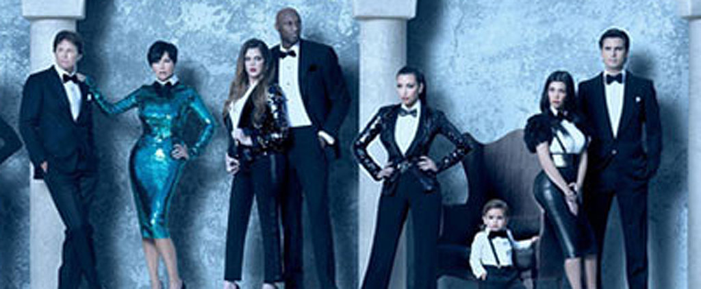 See All the Over-the-Top Kardashian Christmas Cards Through the Years
