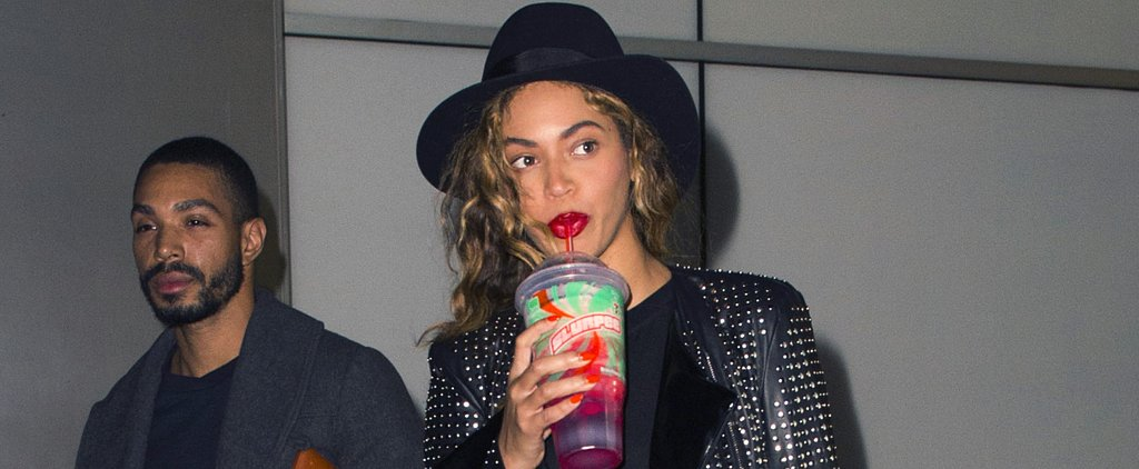 "Beyoncé Releases New ""7/11"" Song, Promptly Sips a 7-Eleven Slurpee"
