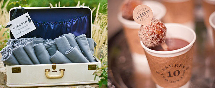 33 Ways to Keep Everyone Warm and Dry at Your Winter Wedding
