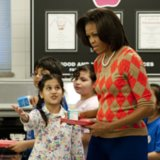 Students Tweet Lunch Photos to Michelle Obama
