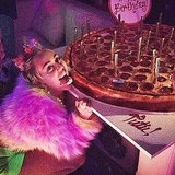 This Is What Miley Cyrus Wore to Her Unicorn and Sex-Toy Themed Birthday