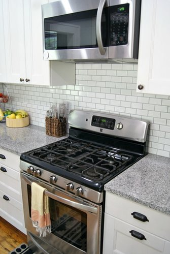 Ikea kitchen renovation popsugar home for Ikea kitchen cabinets assemble yourself